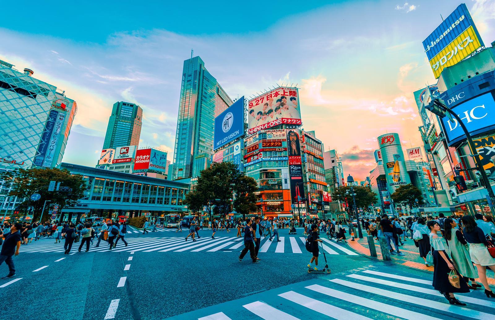caminar por japón