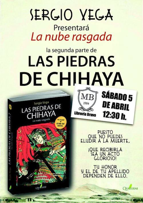 ...òLas piedras de Chihaya...ô en Librería Bravo